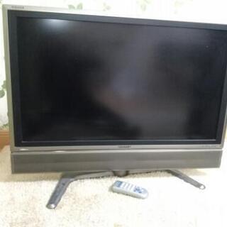 水晶カラーテレビシャープアクオス