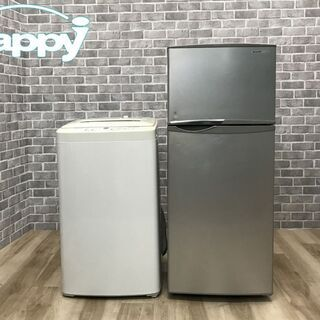 【ハッピー西葛西店】お買い得! 家電2点セット 【冷蔵庫・…