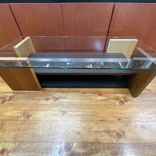 ☆日本製 ガラステーブル ネスタ 110 リビングテーブル jo...