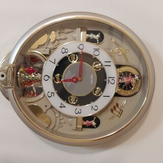 値下げしました【オルゴール壁掛け時計】SEIKO製