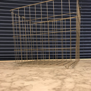 ステンレス製/ランドリーバスケット