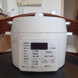 [ほぼ新品] 電気圧力鍋 アイリスオーヤマ 2.2L