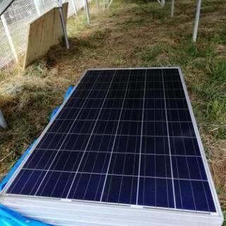 値下げ、ソーラーパネル255w 1枚から (奈良市西部)、 残り約6枚