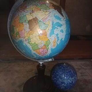 地球儀  星座  付き