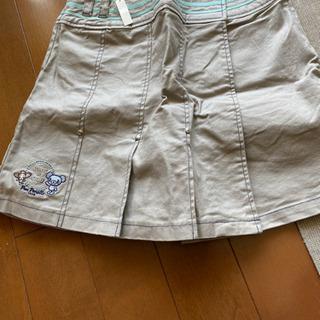 ポンポネットスカートパンツ160
