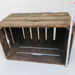 【アンティーク】木箱