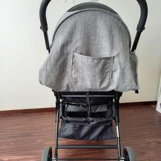 双子縦型ベビーカー - 子供用品