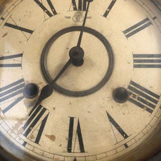 昭和レトロ 古時計 柱時計 アンティーク ヴィンテージ - 売ります・あげます