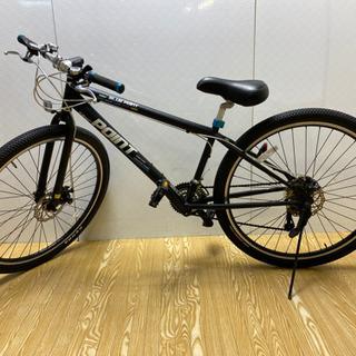 【ネット決済・配送可】クロスバイク 29er BLUE POIN...