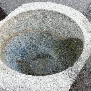 つくばい・手水鉢、あげます~(^O^)
