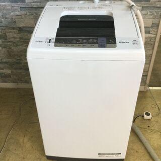 [高年式]HITACHI 日立 全自動電気洗濯機 白い約束 NW...