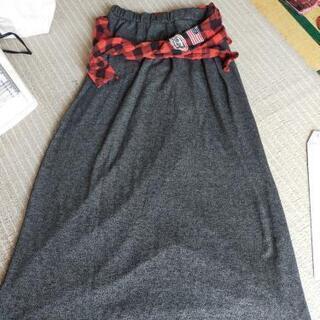 カジュアルロングスカート