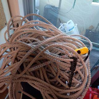 ロープ(化繊系) 約12ミリ 約100m 中古 船舶 アンカーロ...