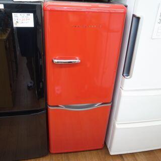 大宇 150L冷蔵庫 DR-C15AR 2017年製 レト…