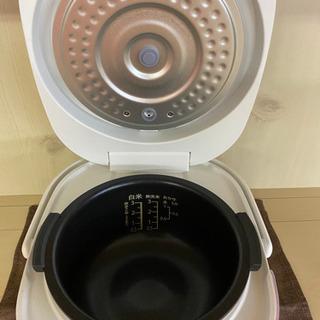 I389 SHARP 3合炊き炊飯器 ホワイト - 売ります・あげます