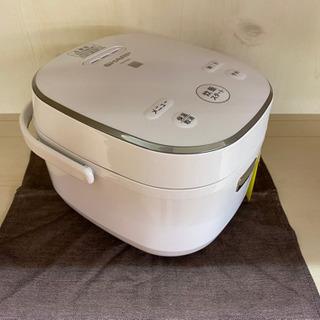 I389 SHARP 3合炊き炊飯器 ホワイト - 家電