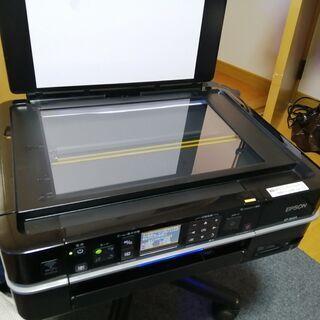 ②EPSON  EP802A 黒ブラック 本体と電源ケーブル  中古 美品 非常に綺麗と思います。 動作品 - 売ります・あげます