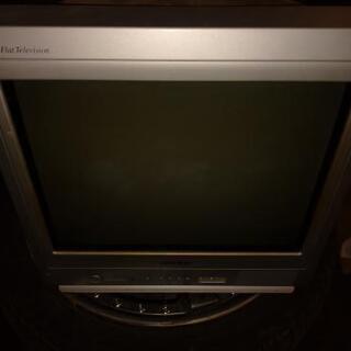 [差し上げます]カラーテレビ シャープ17型