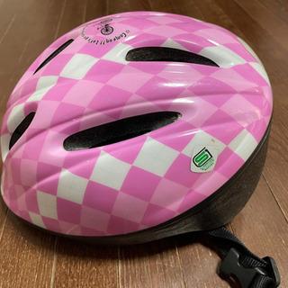 《予定者決定》子供用ヘルメット②ピンクの画像