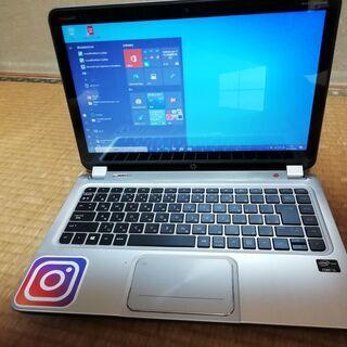 ✅ 【高速i5、HDD+SSD、オフィス、カメラ】14インチ液晶...