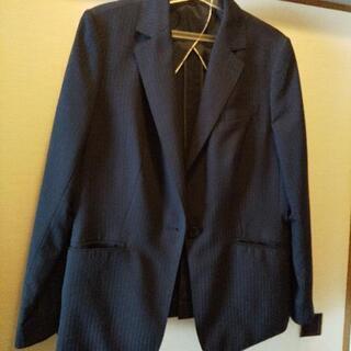 【ネット決済】春夏スーツ15号大きいサイズスカート2枚付青山定価4万円