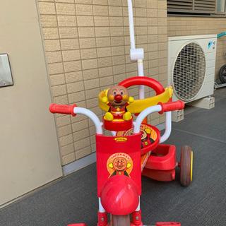 【ネット決済】【お取引中】アンパンマン三輪車 オールインワンUP