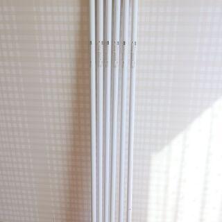 のぼりポール6本 & 注水台2個 ポール 竿 旗 ホワイト…