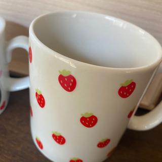 いちごのマグカップ