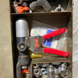 最終値下げ!工具 手動油圧式つば出し工具 LOBSTER エビ印