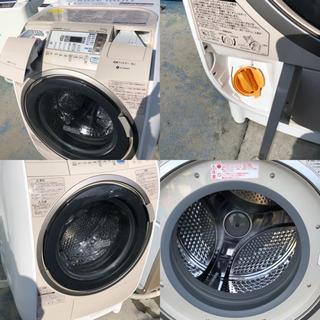 日立 ドラム式洗濯乾燥機 洗9kg乾6kg  BD-V3400L