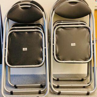 パイプ椅子(折り畳み椅子) 4脚