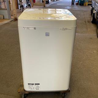 シャープ洗濯機 SHARP ES-G4E7 美品