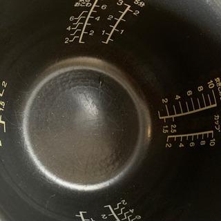 炊飯器 1升炊き 中古 - 家電