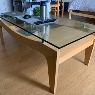 テーブル 中古 ガラステーブル - 札幌市