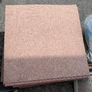 正方形 タイルカーペット マット 敷物