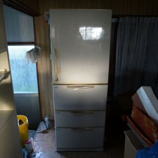 あげます SANYO 98年製 冷蔵庫 415L 中古