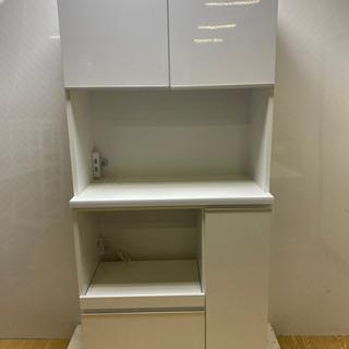 【ネット決済・配送可】stp-0891 キッチンボード ホワイト...