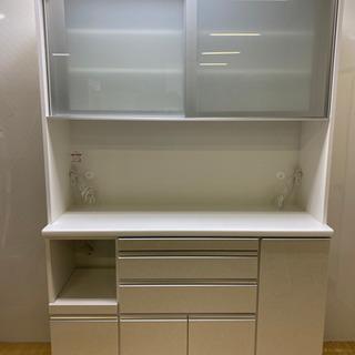 【ネット決済・配送可】stp-0892 キッチンボード ホワイト...