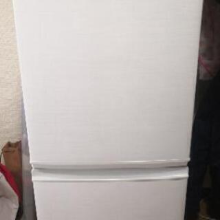 シャープ 冷蔵庫SJ-D14C-W 2017年製
