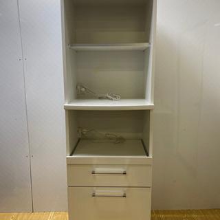 【ネット決済・配送可】stp-0863 キッチンボード ホワイト...