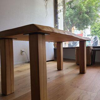 とちの木、サイドテーブル、ローテーブル、リビングテーブル