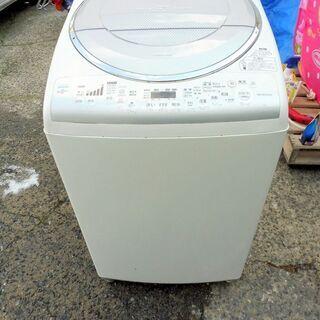 東芝 全自動洗濯乾燥機 AW-80VE 8kg 中古
