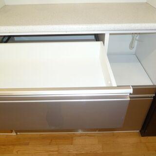 k212☆ニトリ☆食器棚・レンジボード☆幅1000㎜☆近隣配達、設置可能 - 家具