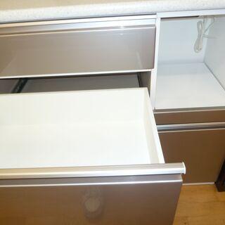 k212☆ニトリ☆食器棚・レンジボード☆幅1000㎜☆近隣配達、設置可能 − 愛知県