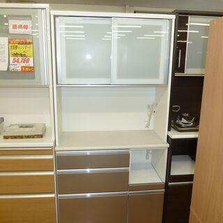 k212☆ニトリ☆食器棚・レンジボード☆幅1000㎜☆近隣…
