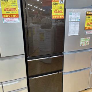 MITSUBISHI製★2017年製3ドア冷蔵庫★6ヵ月間保証付...