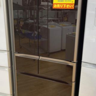 HITACHI製★2014年製大型冷蔵庫★6ヵ月間保証★近隣配送可能