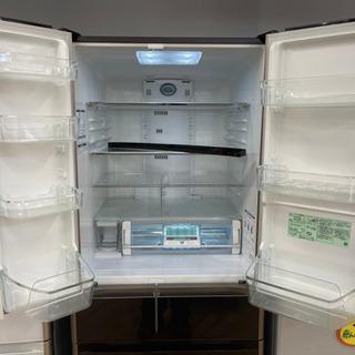 値下げしました!!!HITACHI製★2014年製大型冷蔵庫★6ヵ月間保証★近隣配送可能 - 春日井市