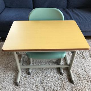 【美品】① 学童机 学習机 子供 椅子 セット