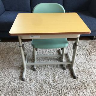 【美品】② 学童机 学習机 子供 椅子 セット